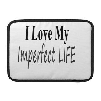 Eu amo minha vida imperfeita bolsa para MacBook air