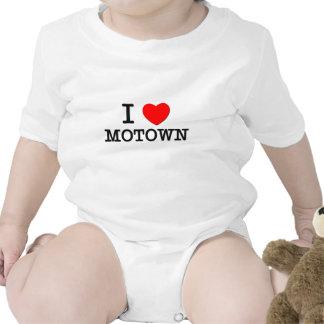 Eu amo Motown Babadores