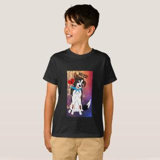 Eu amo Mozzi o cão Tshirt