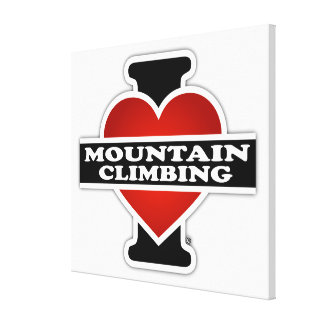 Eu amo o alpinismo