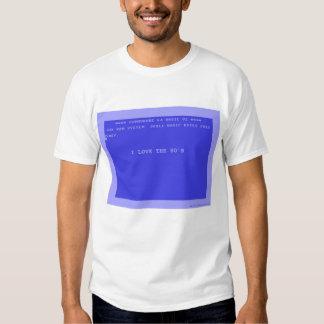 Eu amo o anos 80 camiseta