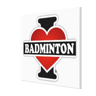 Eu amo o Badminton