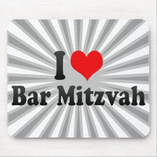 Eu amo o bar Mitzvah Mousepad