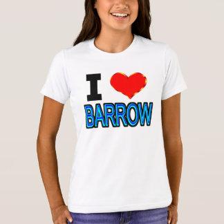Eu amo o carrinho de mão Alaska Camiseta