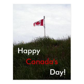 Eu amo o cartão de Canadá Cartao Postal