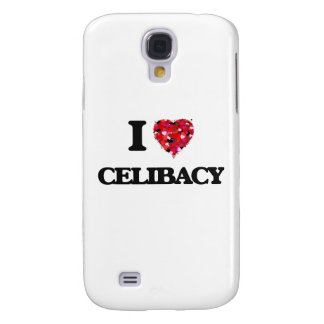 Eu amo o celibato galaxy s4 case
