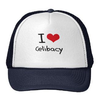Eu amo o celibato boné