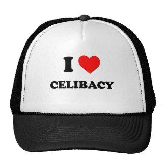 Eu amo o celibato bonés