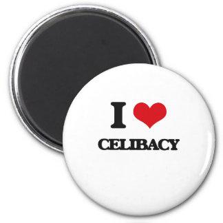 Eu amo o celibato imas de geladeira