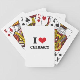 Eu amo o celibato jogo de cartas