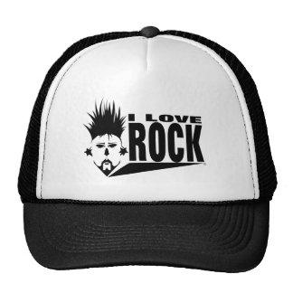 EU AMO o chapéu do camionista do ROLO da ROCHA N Boné