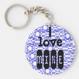 Eu amo o chaveiro do *name