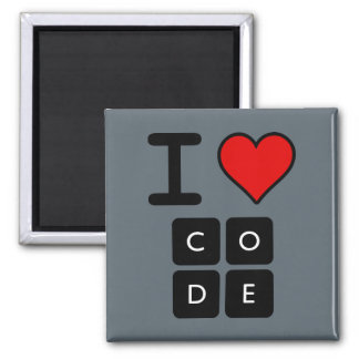 Eu amo o código íman
