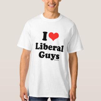 EU AMO o humor LIBERAL de Politiclothes das CARAS Tshirts