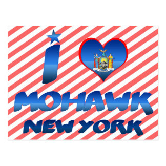 Eu amo o Mohawk, New York Cartão Postal
