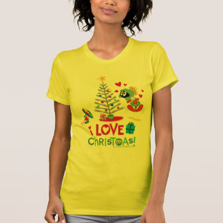 Eu amo o Natal - MARVIN o MARTIAN™ T-shirt