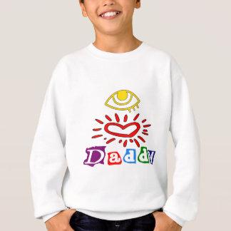Eu amo o pai camiseta