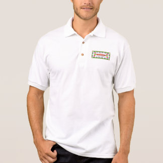 """""""Eu amo o pólo dos homens dos colibris"""" T-shirt Polo"""