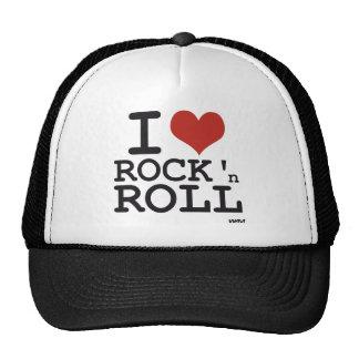 Eu amo o rock and roll boné