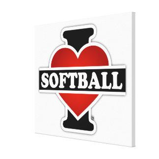 Eu amo o softball