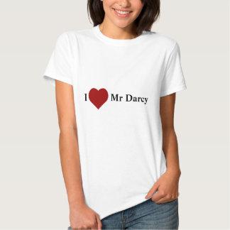 Eu amo o Sr. Darcy Tshirts
