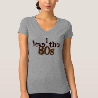 eu amo o T do anos 80 Camiseta