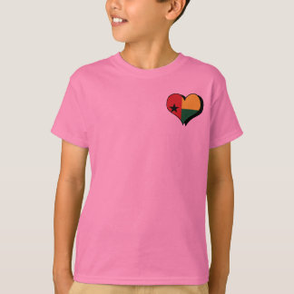 Eu amo o t-shirt de Guiné-Bissau