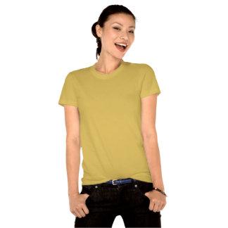 Eu amo o Tshirt. orgânico Camiseta