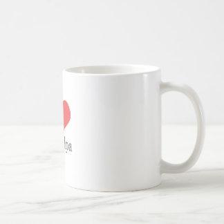eu amo o vovô caneca de café
