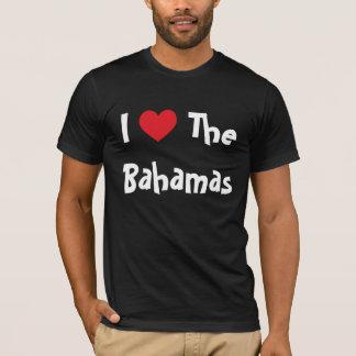 Eu amo os Bahamas T-shirt