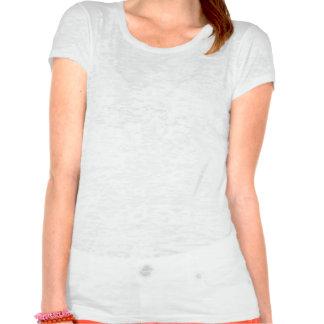 Eu amo pegadas camisetas