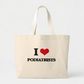 Eu amo Podiatrists Bolsas Para Compras