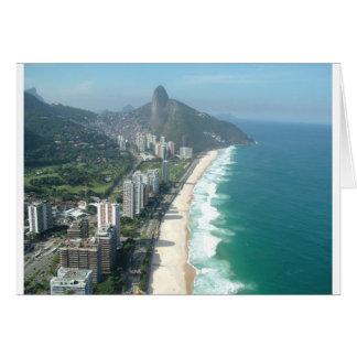 Eu amo Rio de Janeiro Cartão