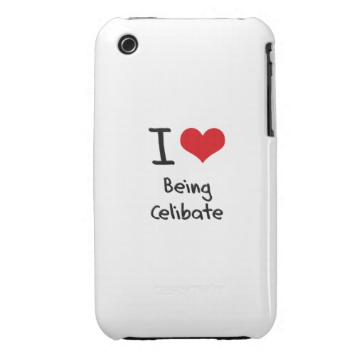 Eu amo ser celibato iPhone 3 capas