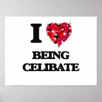 Eu amo ser celibato poster
