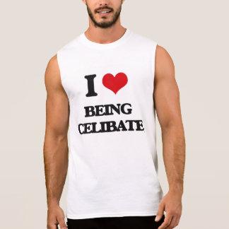 Eu amo ser celibato camisa sem mangas