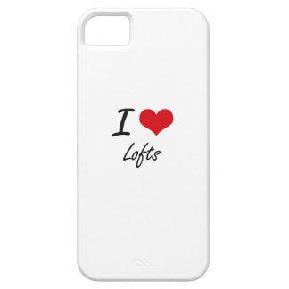 Eu amo sótãos capa para iPhone 5