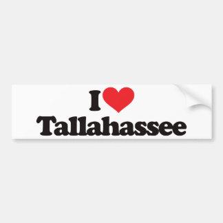 Eu amo Tallahassee Adesivo Para Carro