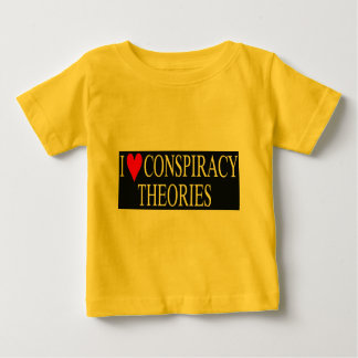 Eu amo teorias de conspiração camisetas
