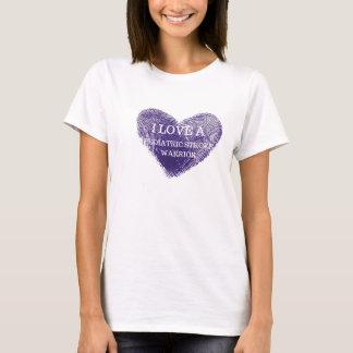 Eu amo um t-shirt pediatra das senhoras do