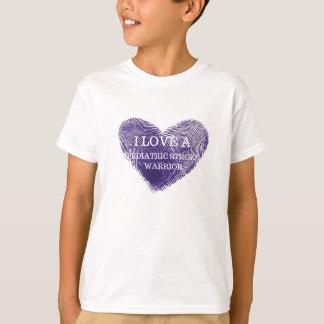 Eu amo um tshirt pediatra da juventude do