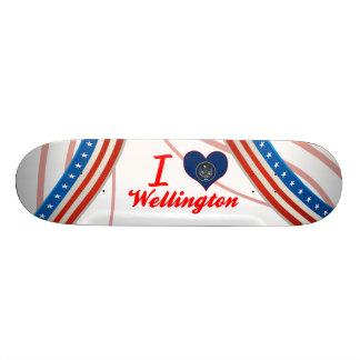 Eu amo Wellington, Utá Skates Personalizados