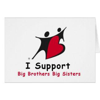 Eu apoio BBBS Cartão
