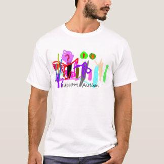 Eu apoio o autismo camiseta