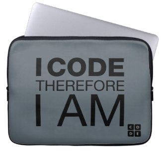 Eu codifico-me conseqüentemente sou capa para laptop