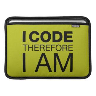 Eu codifico-me conseqüentemente sou capas para MacBook air