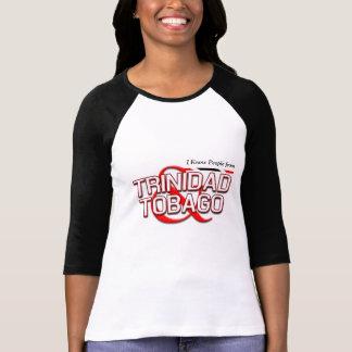 Eu conheço pessoas de Trinidad and Tobago T-shirts