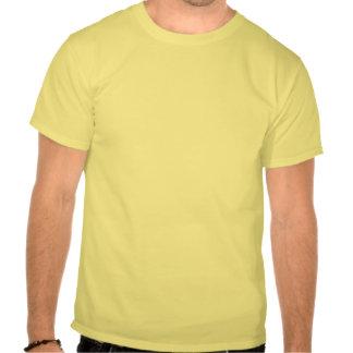 Eu cresci acima e transformei-me um paleontologist camisetas