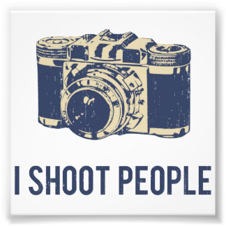 Eu disparo em pessoas da câmera da fotografia