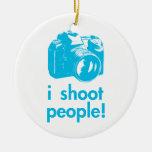 eu disparo em pessoas do fotógrafo da fotografia enfeite